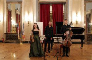 Piano trio - Laurenz Eigner, piano, Marija Radovanović, violin, Petar Pejčič, cello