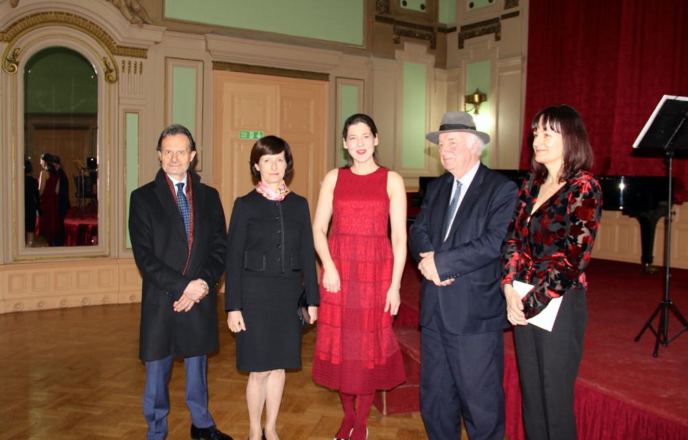 H.E. Ms Ivana Hlavsova, Jovanka Visekruna Jankovic, Ibrahim Spahic, Sarajevo Winter Festival